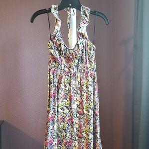 Express floral cotton dress